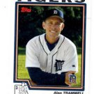 Alan Trammell Trading Card Single 2004 Topps #277 Tigers MGR