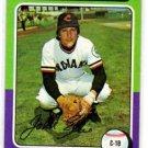 John Ellis Trading Card Single 1975 Topps #605 Indians EX+