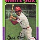 Eddie Leon Trading Card Single 1975 Topps #528 White Sox EX+