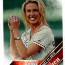 Bree Morse First Pitch Trading Card Single 2016 Topps #FP6 Angels