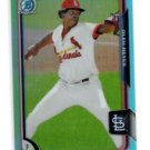 Alex Hayes Sky Blue Refractors SP 2015 Bowman Chrome Draft #83 Cardinals
