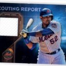 Yoenis Cespedes Scouting Report Game Used Jersey 2016 Topps SRRYC Mets
