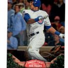 Addison Russell 100 Years Wrigley Field Insert 2016 Topps #WRIG13 Cubs