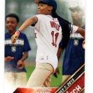 Mo'Ne Davis First Pitch Insert 2016 Topps #FP4 Red Sox