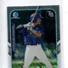 Andrew Valazquez Farms Finest Insert 2015 Bowman Chrome #FFMAVE Rays