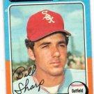 Bill Sharp Trading Card Single 1975 Topps #373 White Sox EXMT