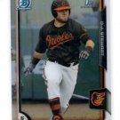 D.J. Stewart Refractors  Parallel 2015 Bowman #146 Orioles