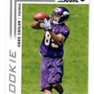 Greg Childs RC Trading Card Single 2012 Score #390 Vikings