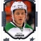 Mattias Janmark Portrats RC Insert  2015-16 UD Series 2 #P87 Stars