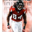 Roddy White In the Zone Trading Card Single 2012 Score #30 Falcons