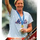 Abby Wambach First Pitch Trading Card Single 2016 Topps #FP1 Mets