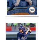 Kevin Kiermaier Trading Card Lot of (2) 2011 Topps Pro Debut #322 Rays
