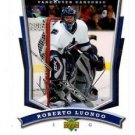Roberto Luongo Trading Card Single 2007-08 Upper Deck MVP #298 Canucks