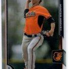Hunter Harvey Refractors Parallel 2015 Bowman #76 Orioles