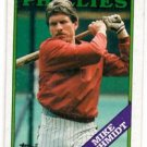 Mike Schmidt Trading Card Single 1988 Topps #600 Phillies