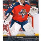 Sam Brittain Young Guns SP RC 2015-16 UD Series 2 #494 Panthers