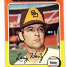 Larry Hardy Trading Card Single 1975 Topps #112 Padres EX+