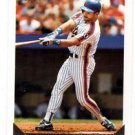 Howard Johnson Trading Card Single 1993 Topps Gold #106 Mets