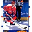 Scott Stevens Banger Trading Card Single 1990-91 Score Canadian #341 Capitals