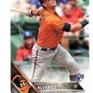 Dariel Alvarez RC Trading Card Single 2016 Topps #311 Orioles