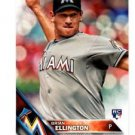 Brian Ellington RC Trading Card Single 2016 Topps #226 Marlins