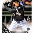 Trayce Thompson RC Trading Card Single 2016 Topps #62 White Sox
