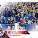 Jose Bautista Batflip Trading Card Single 2016 Topps #96 Blue Jays