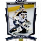 Chris Mason Trading Card Single 2007-08 Upper Deck MVP #212 Predators
