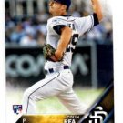 Colin Rae RC Trading Card 2016 Topps #141 Padres