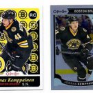 Joonas Kemppainen OPC Retro RC & Rainbow Foil 2015-16 UD Series 2 #U33 Bruins