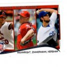 Clayton Kershaw Ryan Zimmerman Adam Wainwright 2014 Topps Mini Exclusive #294 LL