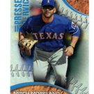 Mitch Moreland Pressed Into Service 2016 Topps #PIS1 Rangers