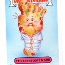 Athlete's Foot Frank Mascot Sticker SP 2015 Topps Garbage Pail Kids #1