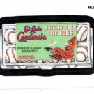 Batting Cage Free Eggs Wacky Packages Insert 2016 Topps #MLBW6 Cardinals