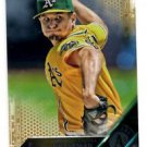 Kendall Graveman Gold Parallel SP 2016 Topps #129 Athletics 1865/2016
