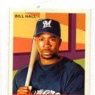 Bill Hall Trading Card Single 2007 Upper Deck Goudey Green MIni #109 Brewers