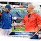 David Ortiz & Albert Pujols Trading Card Single 2016 Topps ##126 Red Sox CL