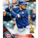 Kris Bryant Future Stars Trading Card Single 2016 Topps #350 Cubs