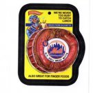 Deli Meats Wacky Packages Trading Card Single 2016 Topps #MLBW-2 Mets