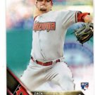 Zack Godley RC Trading Card 2016 Topps #290 Diamondbacks