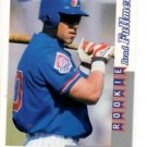 Brad Fullmer RC 1996 Score Rookies & Traded #RT249 Expos