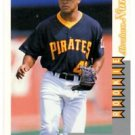 Abraham Nunez RC 1996 Score Rookies & Traded #RT248 Pirates