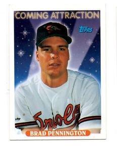 Brad Pennington Trading Card Single 1993 Topps 494 Orioles