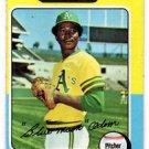 John Odom Trading Card Single 1975 Topps #69 Athletics NMT