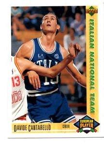 David Cantarello 1991-92 Upper Deck International Italian #116