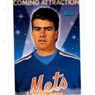 Bobby Jones RC Trading Card Single 1993 Topps #817 Mets