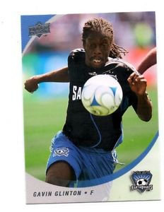 Gavin Glinton Trading Card Single 2008 Upper Deck MLS 93 Earthquakes