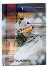 Yu Darvish Trading Card Single 2016 Topps Finest 91 Rangers