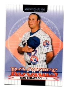 Ron Chiavacci Trading Card 2002 Donruss Rookies #60 Expos