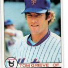 Tom Grieve Trading Card Single 1979 Topps 277 Mets